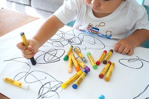 arte terapie babies